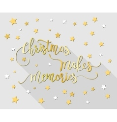 Handdrawn christmas lettering vector
