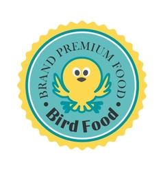 Premium bird food icon vector