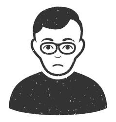 Downer Grainy Texture Icon vector image