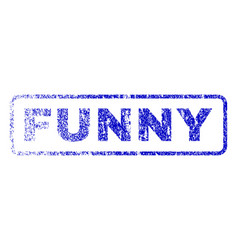 Funny rubber stamp vector