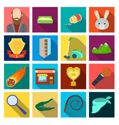 Travel hobby education and other web icon in vector