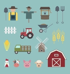 Farming icon vector