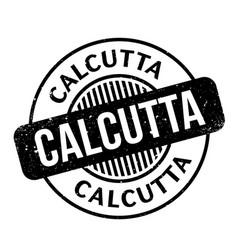 Calcutta rubber stamp vector