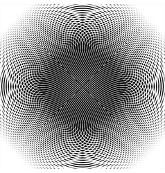Design monochrome thread interlaced background vector image
