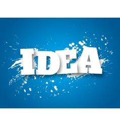 Idea Business concept vector image