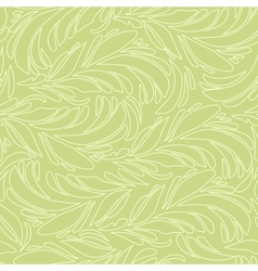Seamless abstract pattern with bright feather vector image