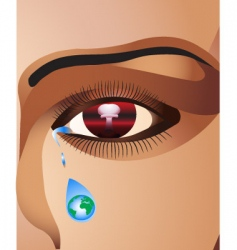 Face eye vector