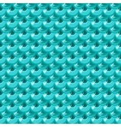 Seamless turquoise river fish scales vector