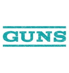 Guns watermark stamp vector