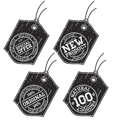 Stamp sale tags vector