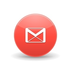 Gmail icon simple style vector