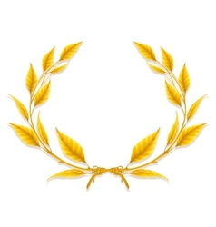 Laurel Wreath Design Element vector image