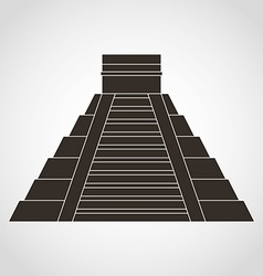 Pyramid mexican vector