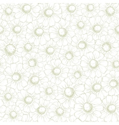 Vintage Seamless Background With Elegant vector image vector image