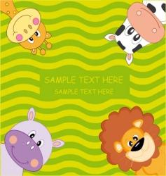 animals vector image vector image