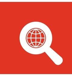 The SEO icon WWW and browser development seo vector image