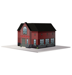 Building design for house vector