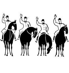 Races vector image