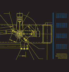 Subject background mechanical engineering vector
