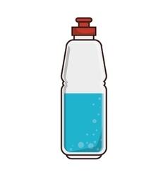 Water sport bottle vector