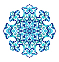 Artistic ottoman pattern series ninety two vector