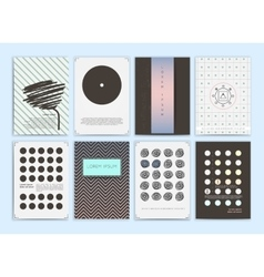 Collection of templates vector