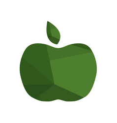 Apple icon on white background vector