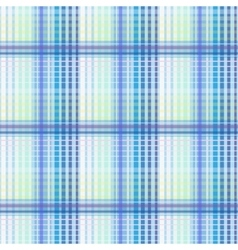 Blue seamless texture plaid vector image