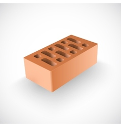 Brick realistic template vector