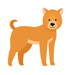 Dog for children vector