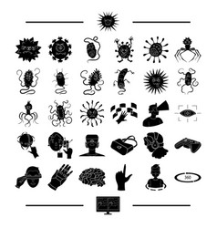 Science medicine hygiene and other web icon in vector