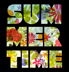 Summer time abstract background vector