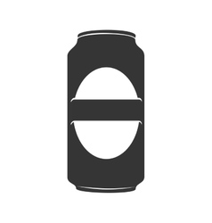icon beer can drink liquid isolated vector image