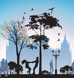 European City vector image