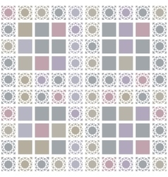 Abstract geometric seamless pattern with grey vector image