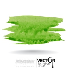 Abstract Green Blurred Background vector image vector image