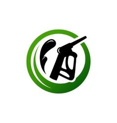 eco fuel sign vector image vector image