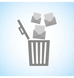 Email concept design vector