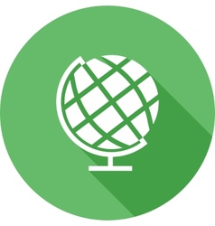 Globe earth vector
