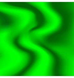 A sample of tissue silk green with pleats vector
