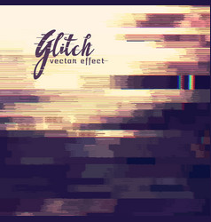 Abstract corrupt or glitch background vector