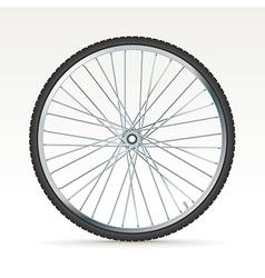 Bike tyre vector