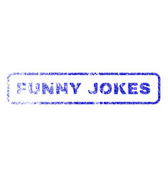 Funny jokes rubber stamp vector
