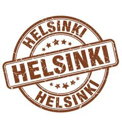 Helsinki stamp vector