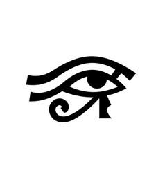 Horus eye wadjet vector
