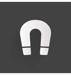 Magnet symbol vector