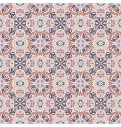 Pink and brown pattern vector