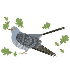 a cuckoo vector image