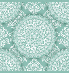 Abstract geometric seamless pattern element with vector