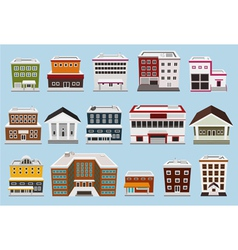 building collection vector image